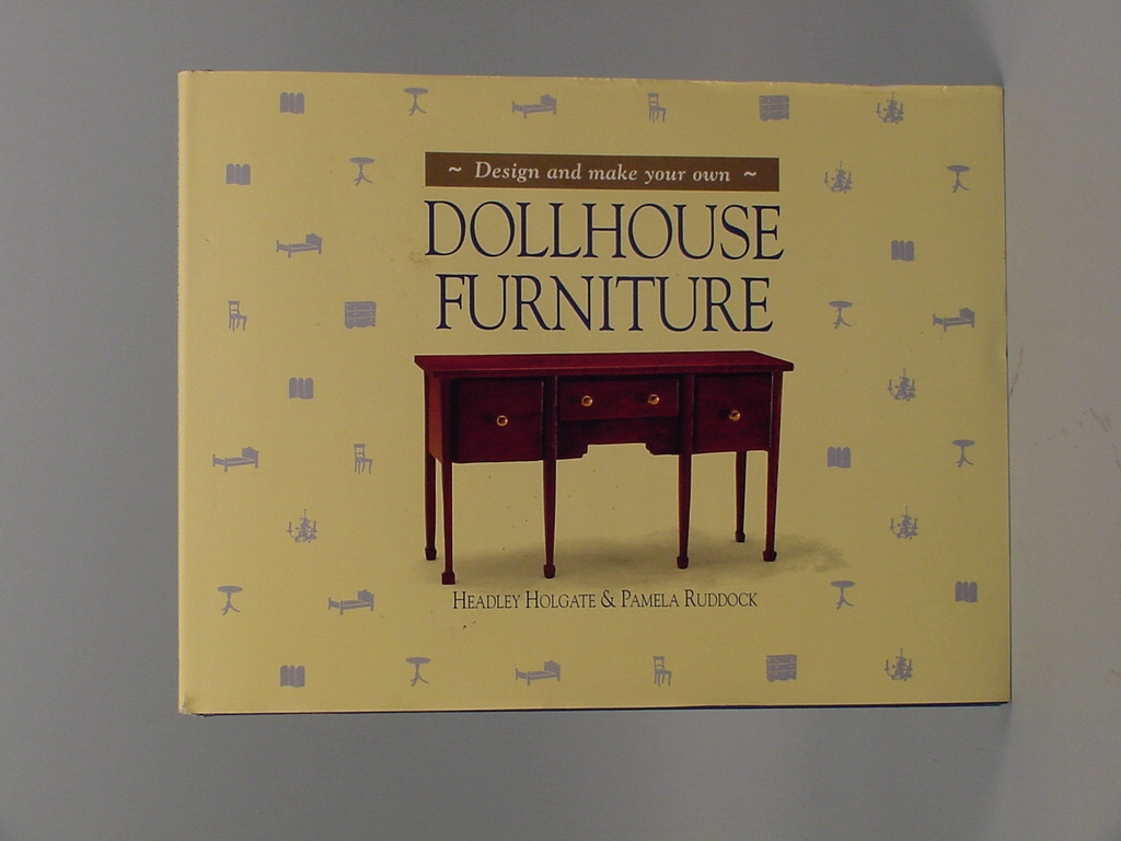 Design and make your own dollhouse furniture 1993 ebay for How to make your own dollhouse