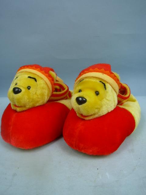Winnie The Pooh Plush Slippers By Disney Size Xl 11 12 Ebay
