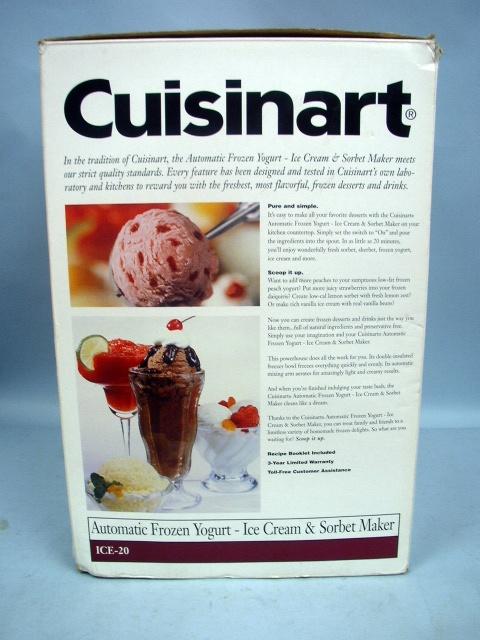 how to make frozen yogurt with cuisinart ice cream maker