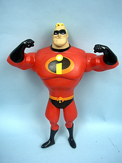 The Incredibles Toys : Quot the incredible mr talking toy by hasbro
