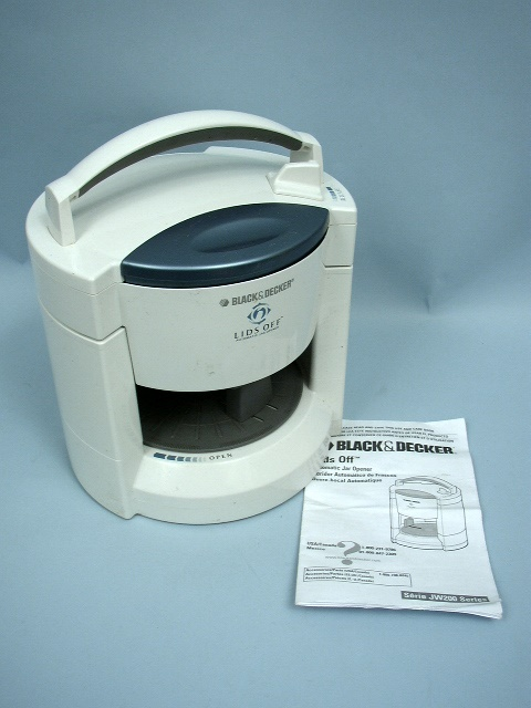 black and decker lids off jw200 manual