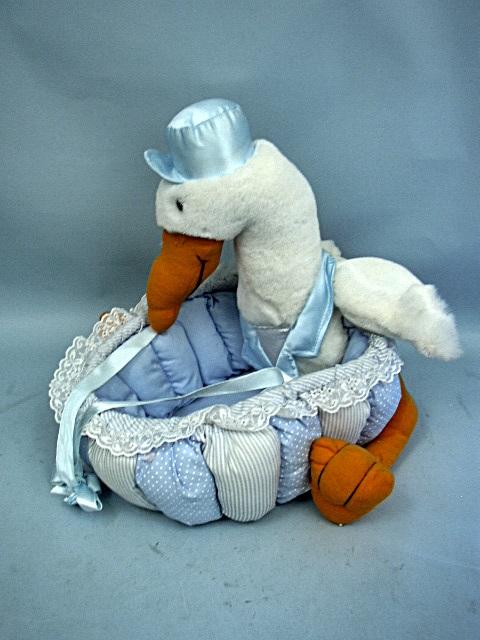 Stork Baby Gift Baskets Reviews : Plush stork baby gift basket by zero to three